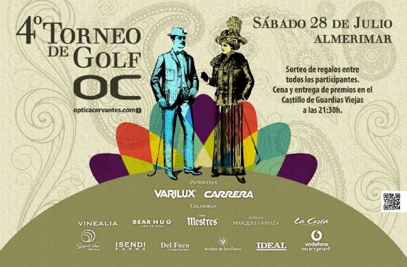 Optica Cervantes golf at Almerimar  2012