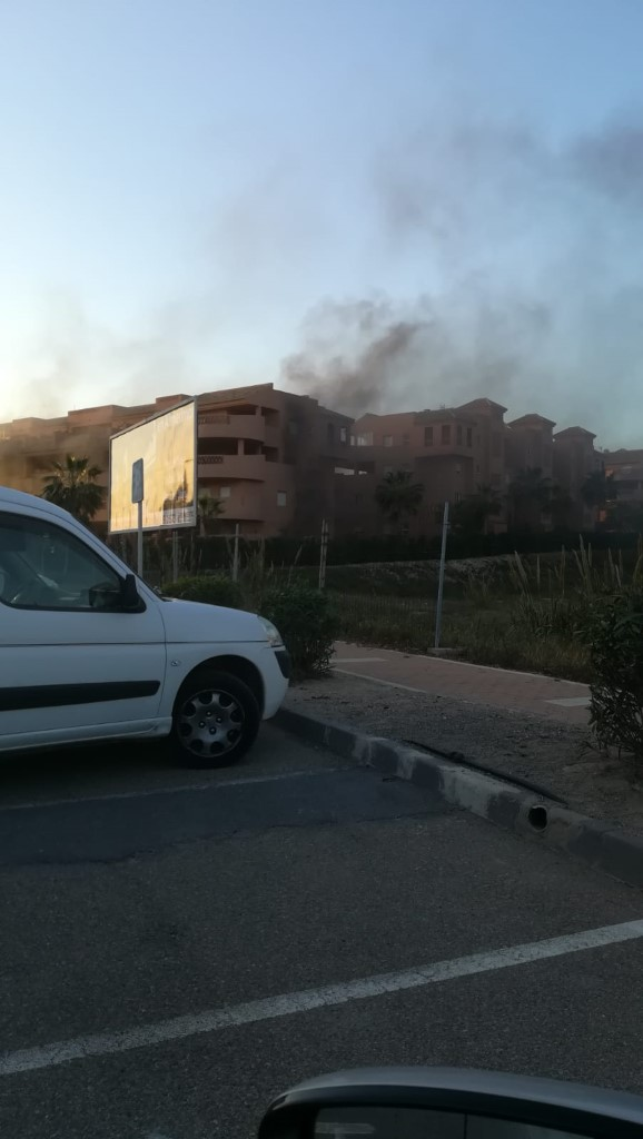 Almerimar Golf Fire 8 March 19