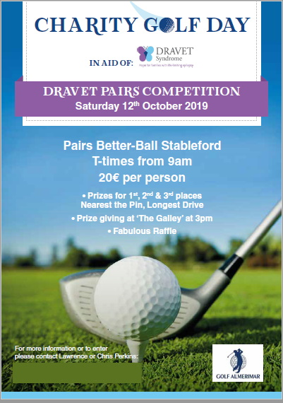 Dravet Charity Golf Day  - 12 October 2019