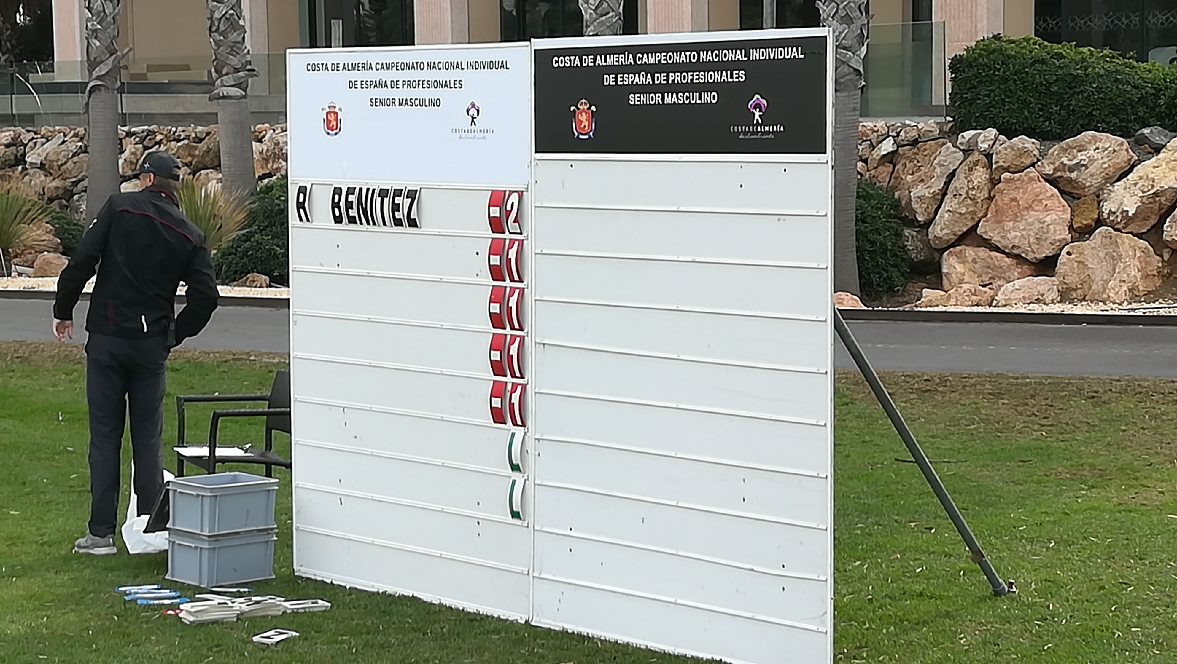 spanish professional golf competition thursday 19 december 2019